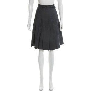 AKRIS Bergdorf Goodman Knee Length Pleated Skirt